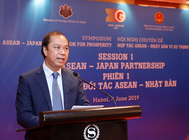 ASEAN, Japan are close, important partners of each other: official hinh anh 1