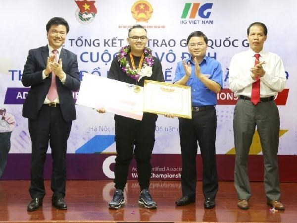 Vietnamese students win ticket to ACAWC's final round hinh anh 1