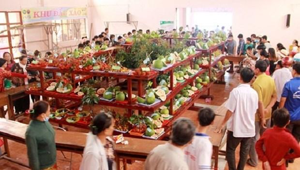 Ben Tre hosts 18th safe fruit festival hinh anh 1