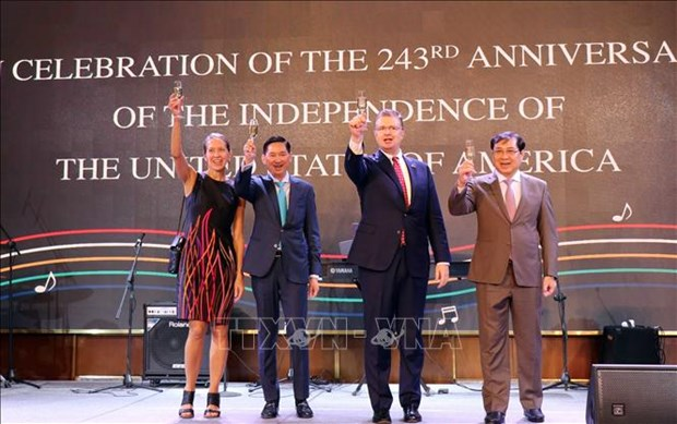 US's 243rd Independence Day marked in HCM City hinh anh 1
