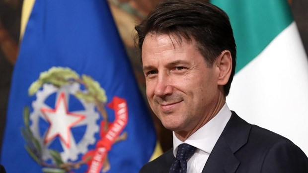 Italian Prime Minister begins official visit to Vietnam hinh anh 1