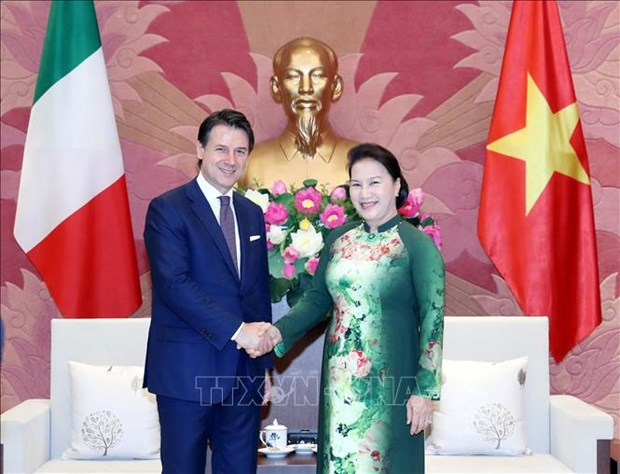 Italian PM voices support for Vietnam's UNSC non-permanent seat run hinh anh 1
