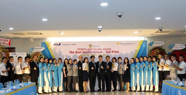 Vietnam's airport ground services firm receives service quality awards hinh anh 1