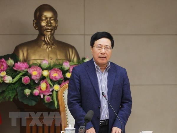 Deputy PM Pham Binh Minh joins final Q&A session hinh anh 1