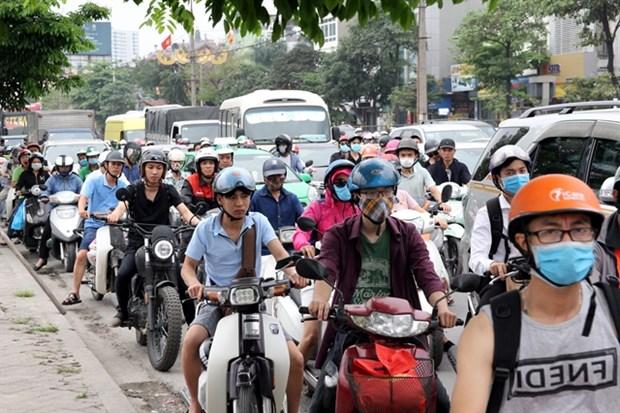 Hanoi takes action to reduce traffic jams hinh anh 1