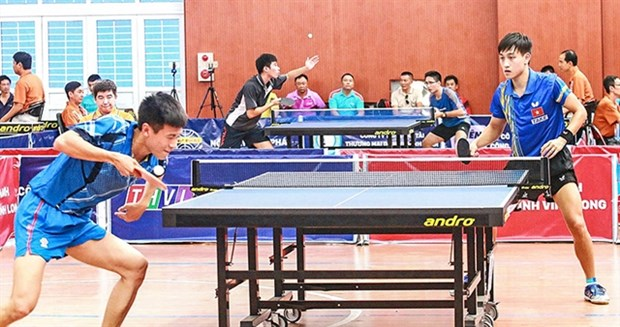 International table tennis cup comes to Vinh Long hinh anh 1