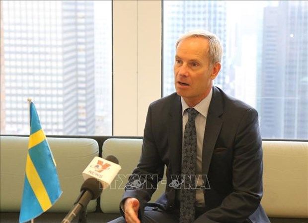 Vietnam has good chances to come to UNSC: Swedish diplomat hinh anh 1