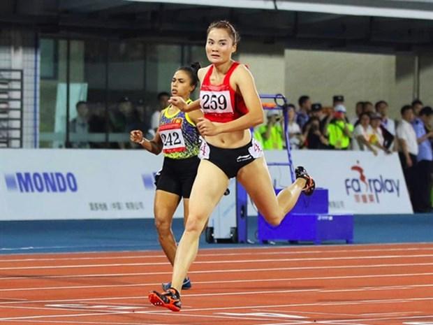 Vietnamese athlete wins gold at Asian Grand Prix Series hinh anh 1