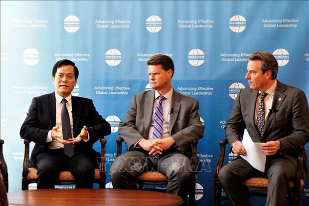Meridian diplomacy forum talks Mekong-US cooperation hinh anh 1