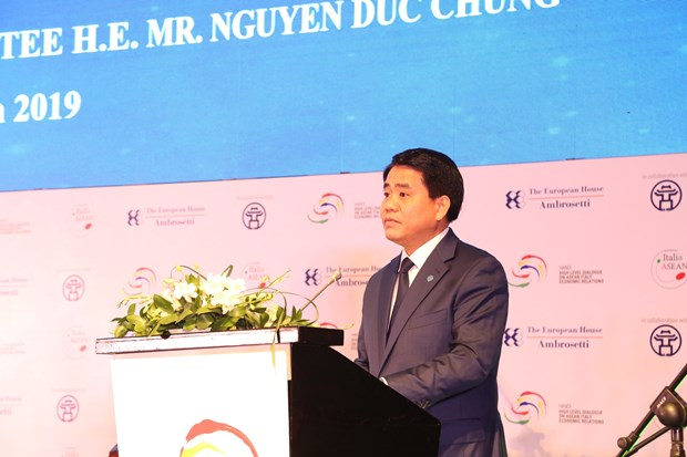 Hanoi welcomes Italian, ASEAN partners: official hinh anh 1
