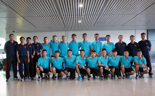 Vietnam futsal team ready for 2019 AFC U-20 championship hinh anh 1