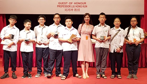Vietnam wins five gold medals at Asia-Pacific math contest hinh anh 1