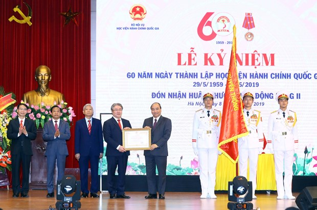 National public administration academy marks 60th anniversary hinh anh 1
