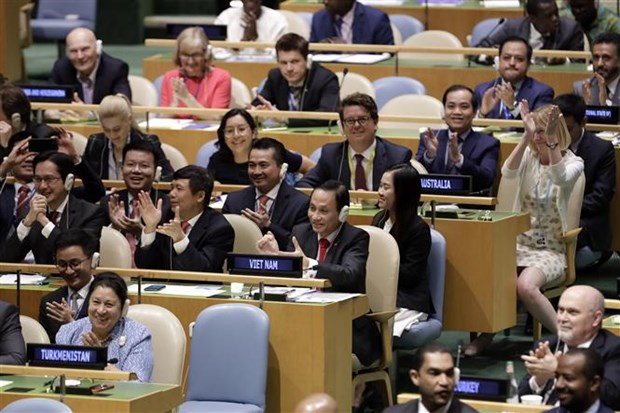 Global press impressed by Vietnam's high votes at UNSC hinh anh 1