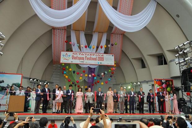 Vietnam Festival 2019 begins in Japan hinh anh 1