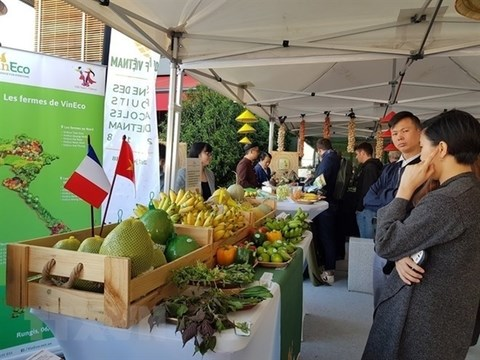 Vietnamese farm products to be displayed in France hinh anh 1