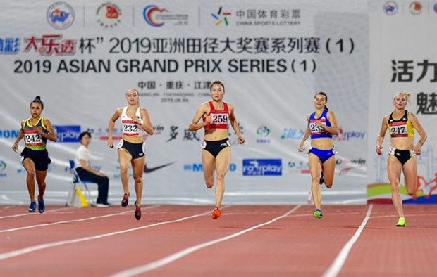 Vietnam wins three golds at Asian Grand Prix Series hinh anh 1
