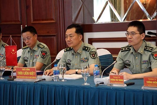Vietnamese, Chinese militaries enhance scientific research cooperation hinh anh 1