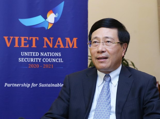 Vietnam pursues multilateralism, consensus at UNSC: Deputy PM hinh anh 1