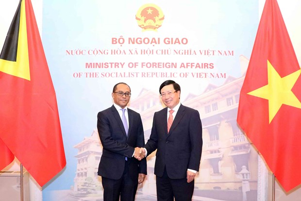 Vietnam, Timor-Leste agree to promote wide-ranging cooperation hinh anh 1