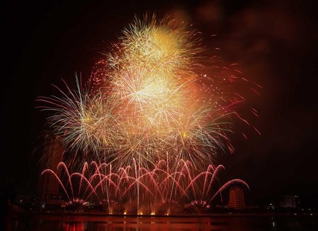 Brazil, Belgium debut at Da Nang int'l fireworks festival hinh anh 1