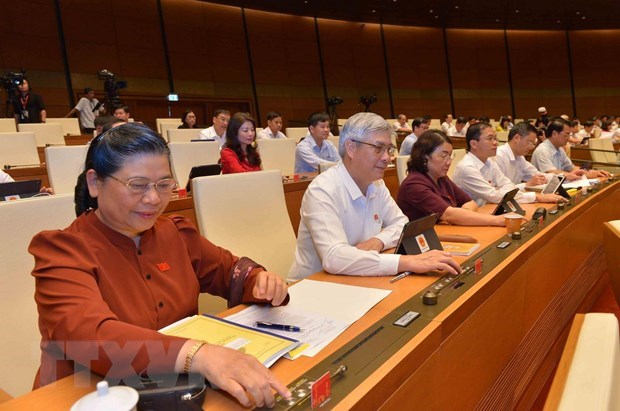 Resolution on Law on the Organisation of People's Courts passed hinh anh 1