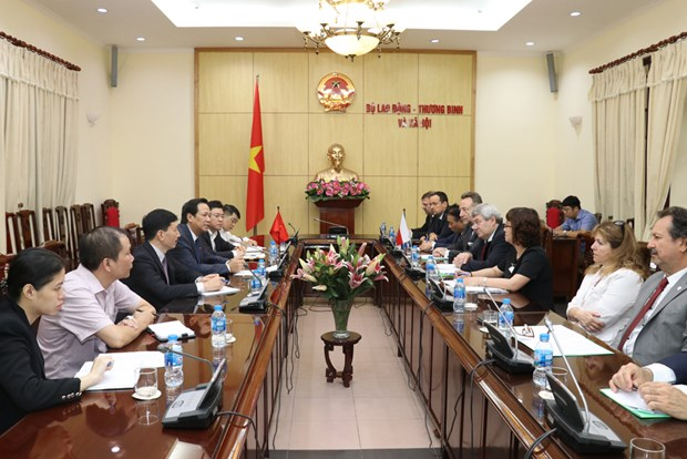 Vietnam, Czech Republic forge labour cooperation hinh anh 1