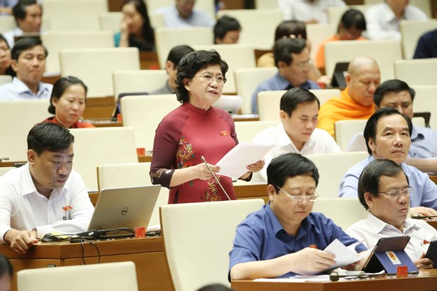 NA adopts resolution on law building programme in 2020 hinh anh 1