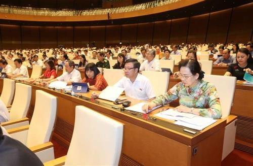 NA adopts resolution on 2017 State budget balance hinh anh 1