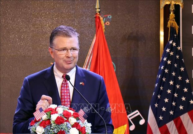 Hanoi ceremony marks US's 243rd Independence Day hinh anh 1