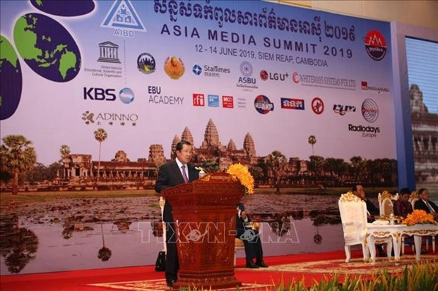 16th Asia Media Summit opens in Cambodia hinh anh 1
