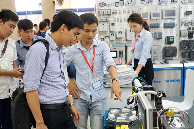 Vietnam Industrial and Manufacturing Fair 2019 opens hinh anh 1