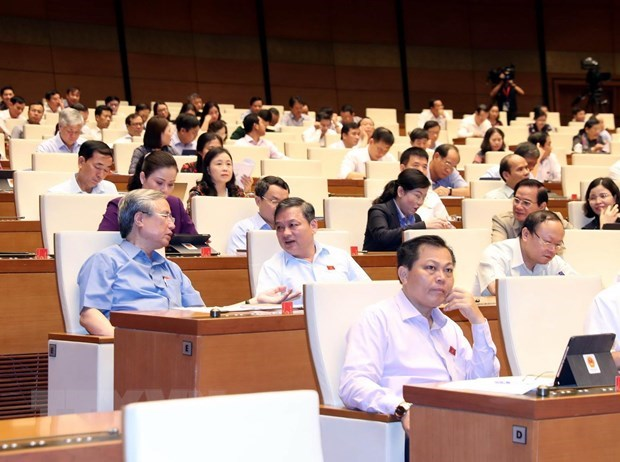 NA deputies give opinions on revised Labour Code hinh anh 1