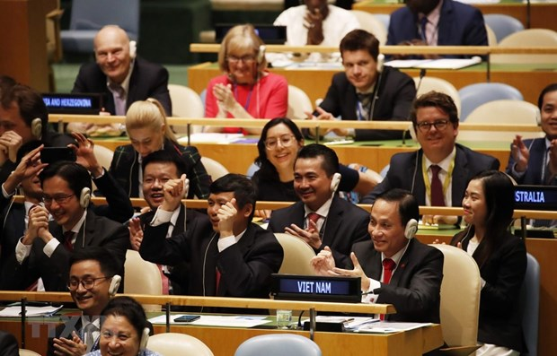 Vietnam's election to UNSC proves its prestige on int'l arena hinh anh 1