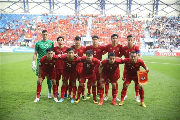 Vietnam's football prepares for 2022 WC qualifiers, SEA Games 30 hinh anh 1