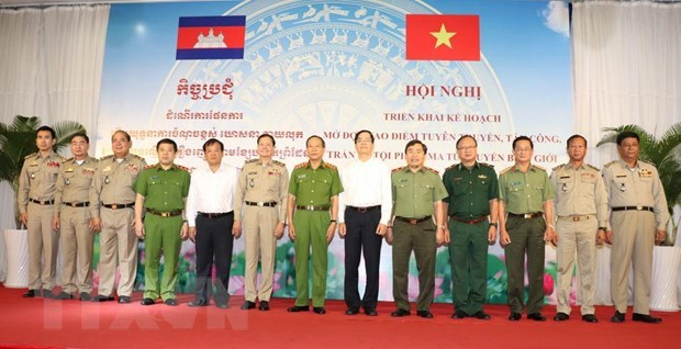 Drug crime crackdown launched along Vietnam-Cambodia border hinh anh 1