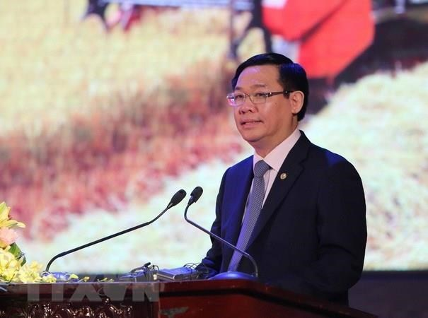 Deputy PM Vuong Dinh Hue to visit Myanmar, RoK hinh anh 1