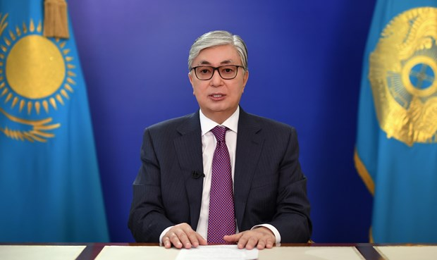 Congratulations to President of Kazakhstan hinh anh 1