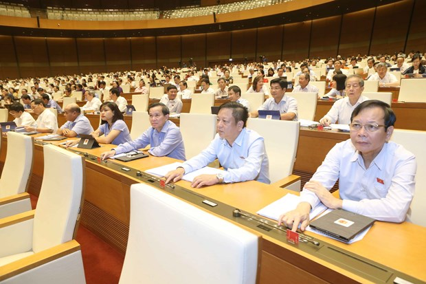 Revised tax management, public investment laws passed hinh anh 1