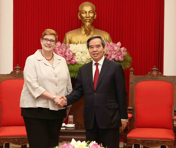 Vietnam promotes strategic partnership with Australia hinh anh 1