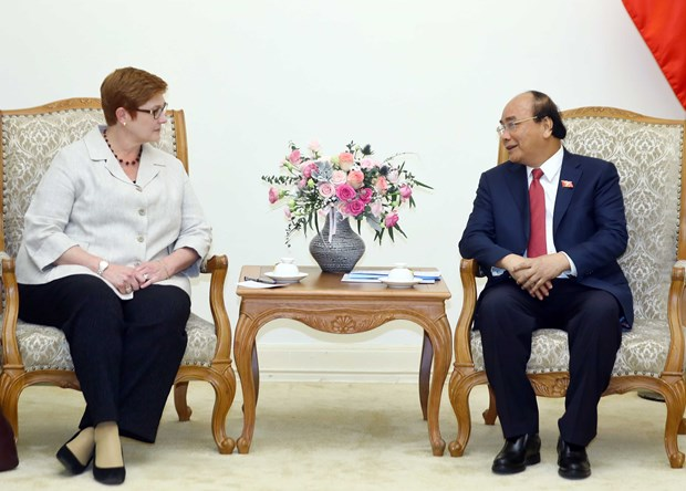 Prime Minister welcomes Australian Foreign Minister hinh anh 1