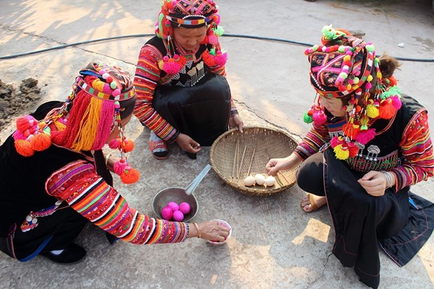 Ha Nhi ethnics' traditional festival named national heritage hinh anh 1