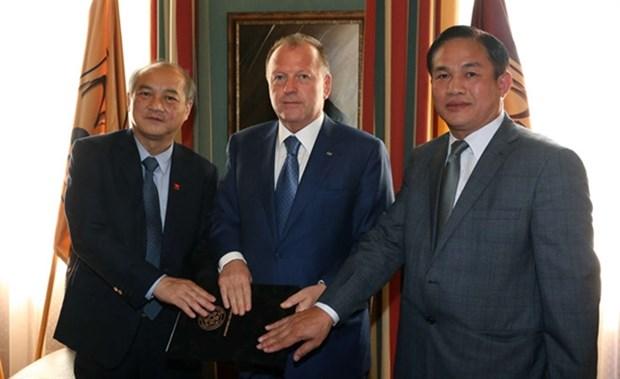 International Judo Federation to support Vietnamese judokas hinh anh 1