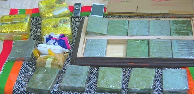 Lao Cai police arrests heroin traffickers hinh anh 1