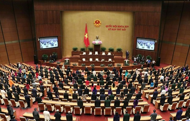 National Assembly's seventh session closes hinh anh 1