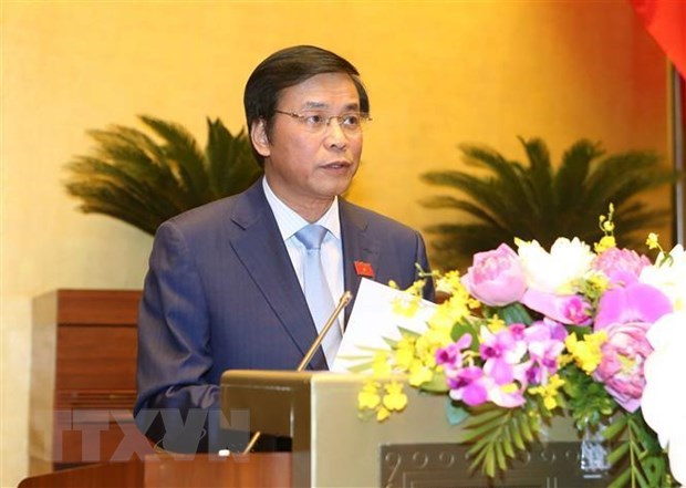 Press conference announces NA's seventh session outcomes hinh anh 1