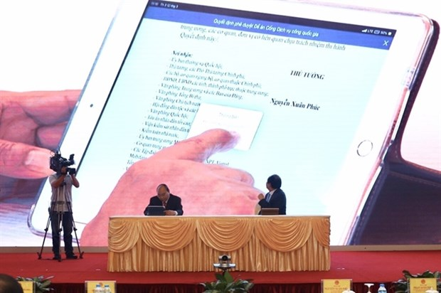National public services portal soon opens this year hinh anh 1