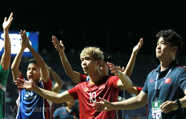 Vietnam rise two places to 96th in FIFA rankings hinh anh 1