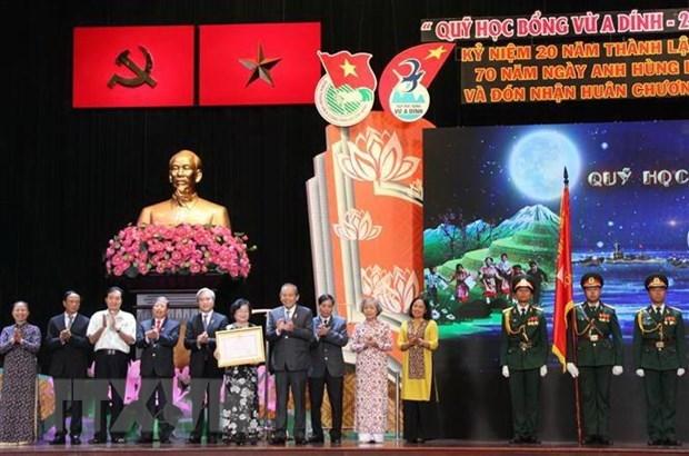 Scholarship fund for ethnic minority children honoured hinh anh 1
