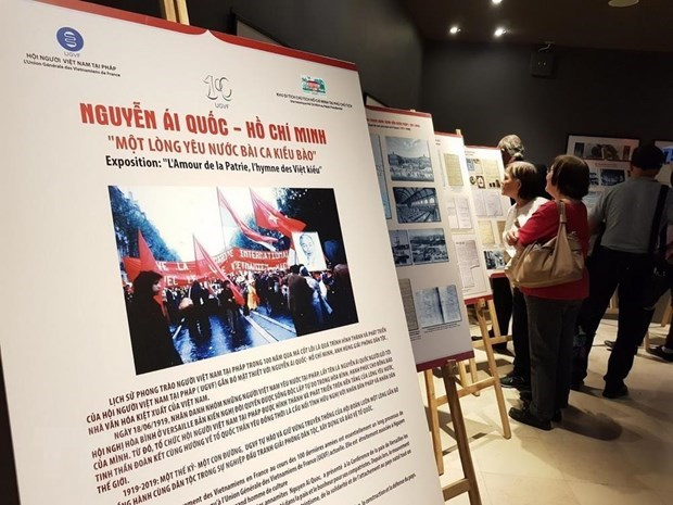 Overseas Vietnamese in France mark 100th anniversary of patriotic movement hinh anh 1